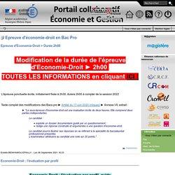Site pédagogique économie et gestion, académie de Grenoble, enseignements ter...
