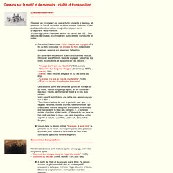 """Victor Hugo - Dossier pédagogique """"l'expérience graphique"""""""