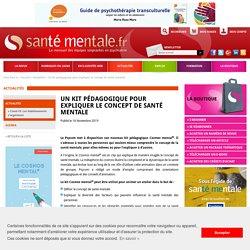 Un kit pédagogique pour expliquer le concept de santé mentale