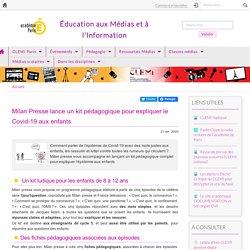 Milan Presse lance un kit pédagogique pour expliquer le Covid-19 aux enfants