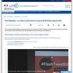 Portail pédagogique académique:FlashTweetEdu