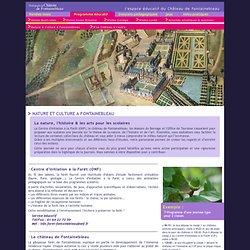 +-+-+ Bienvenue sur le site pédagogique du Château de Fontainebleau +-+-+