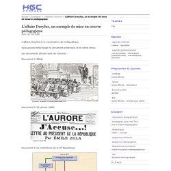 L'affaire Dreyfus, un exemple de mise en oeuvre pédagogique