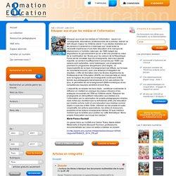 Revue pédagogique de l'OCCE - Eduquer aux et par les médias et l'information
