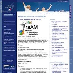 Portail pédagogique académique:Eduquer aux médias et à l'information (EMI)