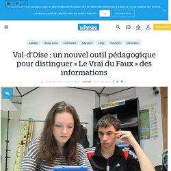 Val-d'oise : un nouvel outil pédagogique pour distinguer « le vrai du faux » des informations