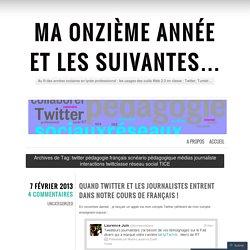 twitter pédagogie français scnéario pédagogique ...