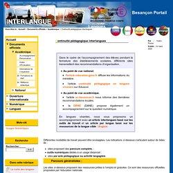 Ac-Besançon_Continuité pédagogique interlangues