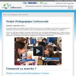 Projet pédagogique scolaire Lettravenir