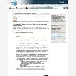 lettres - un blogfolio pour donner envie d'écrire