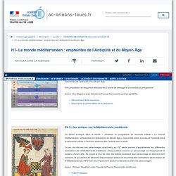 Portail pédagogique académique:H1- Le monde méditerranéen : empreintes de l'Antiquité et du Moyen Âge