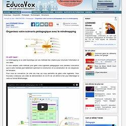 Organisez votre scénario pédagogique avec le mindmapping