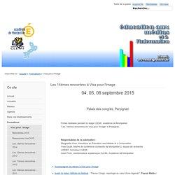 Visa pour l'image - Site pédagogique du CLEMI, Académie de Montpellier