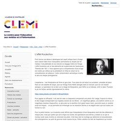 L'effet Koulechov - Site pédagogique du CLEMI, Académie de Montpellier