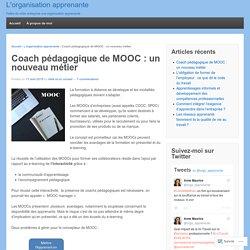 Coach pédagogique de MOOC : un nouveau métier