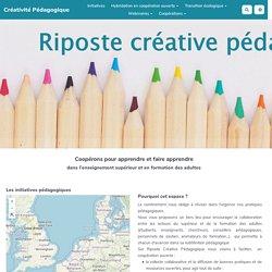 Riposte créative : continuité pédagogique (formation adultes)