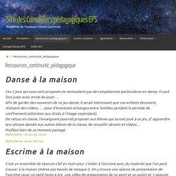 Ressources_continuité_pédagogique – EPS 31