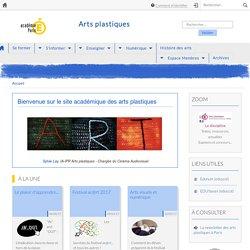 Site pédagogique des Arts Plastiques - Académie de Paris