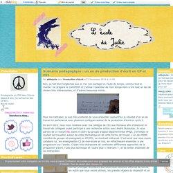 Scénario pédagogique : un an de production d'écrit en CP et CE1