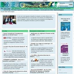 Site pédagogique économie gestion tertiaire lycée professionnel - Relat° Clients Usagers