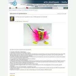 arts plastiques - InSitu - fabrication et représentation