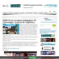 HOME I/O est un logiciel pédagogique 3D (Technologie – Sciences de l'Ingénieur)