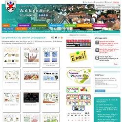 Les panneaux du sentier pédagogique — Waldighoffen