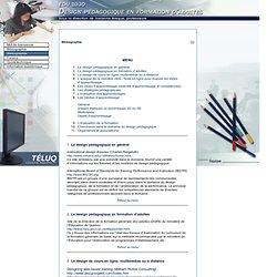 Design pédagogique en formation d'adultes > Webographie