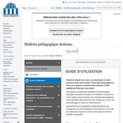 Mallette pedagogique Autisme