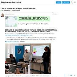 Les ROB'O d'EVIAN (74 Haute-Savoie) - Activités scolaires - FORUM DESSINE-MOI UN ROBOT