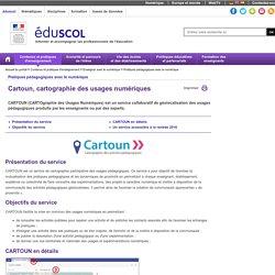 Pratiques pédagogiques avec le numérique - Cartoun, cartographie des usages numériques