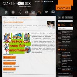 Outils pédagogiques Starting Block - La consommation responsable