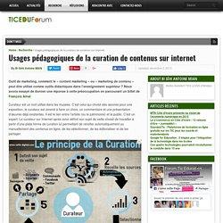 Usages pédagogiques de la curation de contenus sur internet