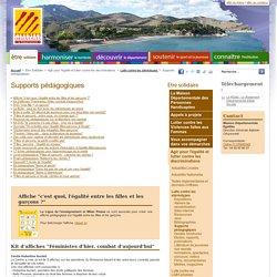 Supports pédagogiques - Conseil Départemental des Pyrénées-Orientales