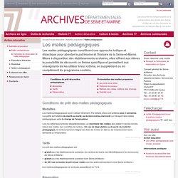 Archives dep 77 : Malles pédagogiques