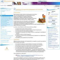 Animations et programmes pédagogiques sur les déchets- Pédagogie - Direction des services départementaux de l'éducation nationale du 16