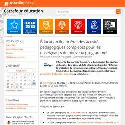 Éducation financière: des activités pédagogiques complètes pour les enseignants du nouveau programme!