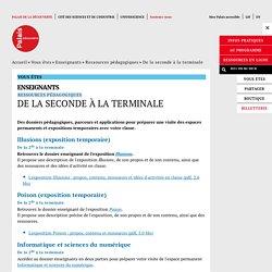 Ressources pédagogiquesPalais de la Découverte Paris