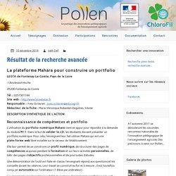 Pollen. Innovations pédagogiques de l'enseignement agricole