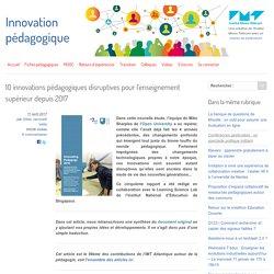 10 innovations pédagogiques disruptives pour l'enseignement supérieur dès 2017 - Innovation Pédagogique