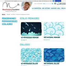 Maud Fontenoy Fondation - Programmes pédagogiques scolaires Education à l'environnement pour les écoles primaires, collèges et lycées