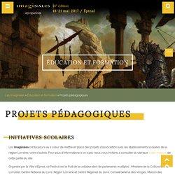 Projets pédagogiques - Les Imaginales