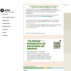 Recherche - Outils pédagogiques et supports d'information d'Oxfam