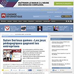 Salon Serious games : Les jeux pédagogiques gagnent les entreprises