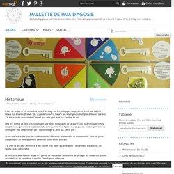 MALLETTE DE PAIX D'AGOGIE - Outils pédagogiques sur l'éducation émotionnelle et les pédagogies coopératives à travers les jeux et les intelligences multiples