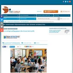 Les avantages pédagogiques des écrans interactifs