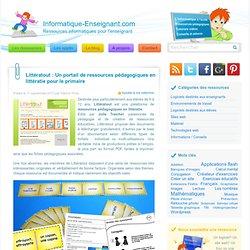 Ressources pédagogiques en littératie pour le primaire avec Littératout
