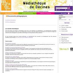 Documents pédagogiques / Médiathèque de Décines