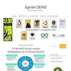 Infographie - Le numérique à l'école - P. Taillard