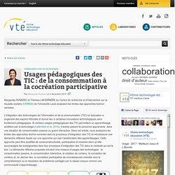 De la consommation à la cocréation participative